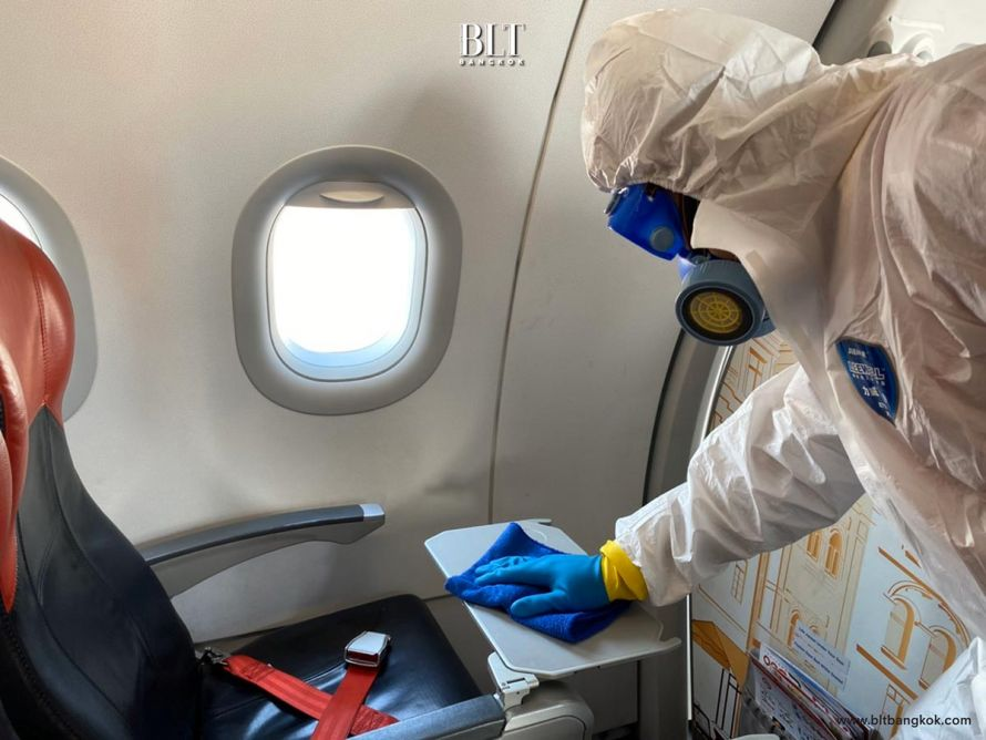 สายการบินเวียตเจ็ท มาตรการทำความสะอาดและฆ่าเชื้ออากาศยาน ป้องกันโควิด-19
