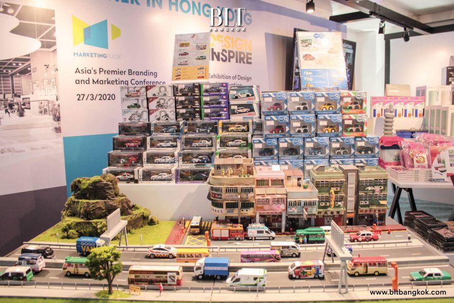 โมเดลรถ ของเล่นจิ๋ว แบรนด์สัญชาติฮ่องกง TINY CITY
