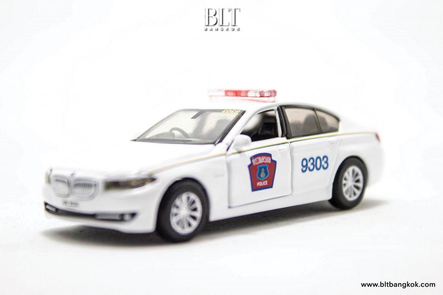 ของเล่นจิ๋ว โมเดลรถตำรวจไทย BMW ซีรีส์ 5 (F10) Tiny City TH01