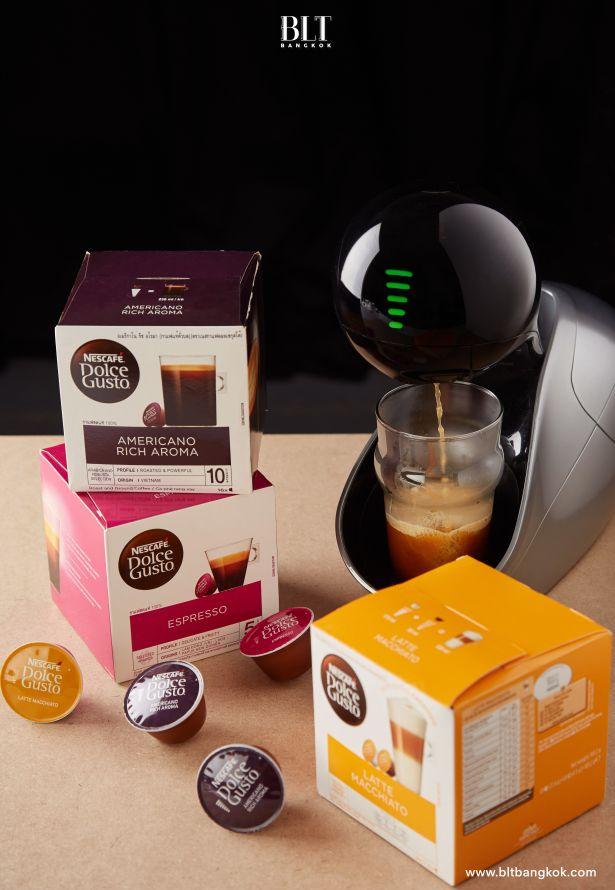 เครื่องชงกาแฟแคปซูล Nescafe Dolce Gusto