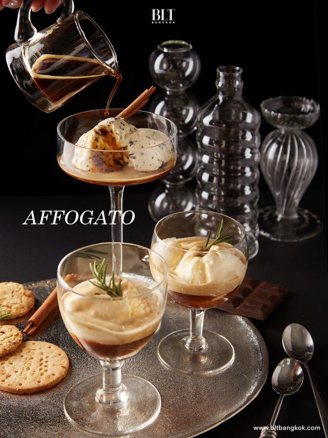 เมนูกาแฟ Affogato ด้วยแคปซูลกาแฟ Nescafe Dolce Gusto Espresso