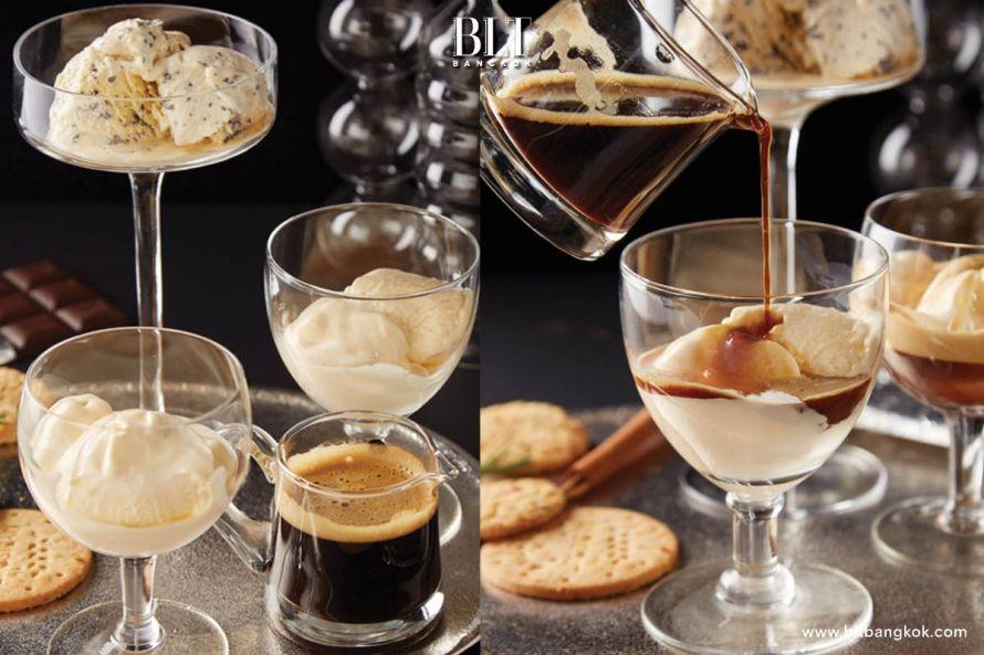 วิธีทำเมนู Affogato ด้วยเครื่องชงกาแฟ และแคปซูลกาแฟ Nescafe Dolce Gusto
