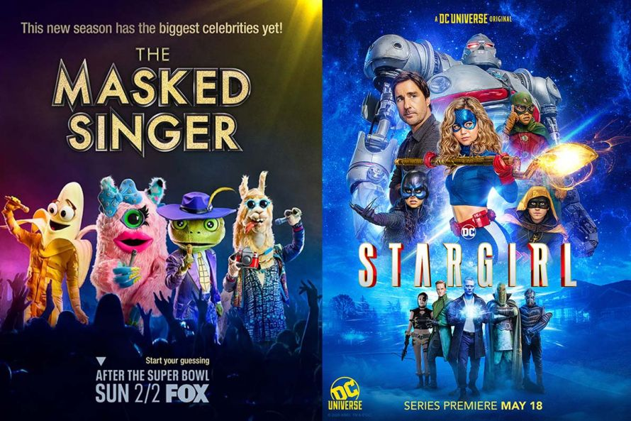 The Mask Singer (USA) และ DC Stargirl
