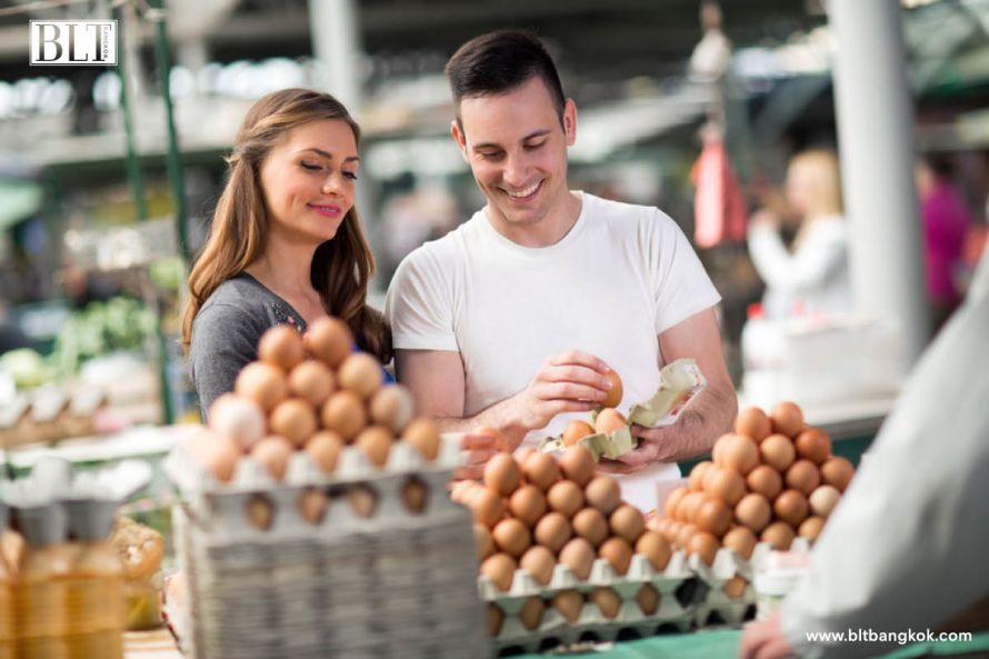 การเลือกซื้อไข่